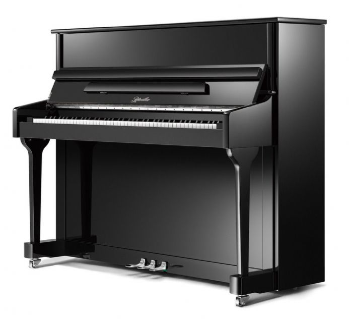 Ritmuller 118cmTraditional Upright Piano Black NEW